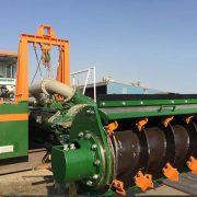 Sediment Dredger ECO 300 auger head - Dredge Yard