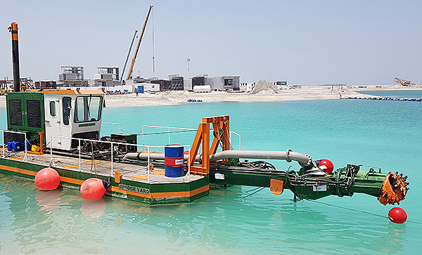 Dredge Yard delivers multipurpose cutter suction dredger