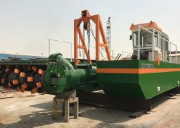 Auger and Cutter Suction dredgers 200