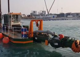 Cutter Suction Dredger 200 testing