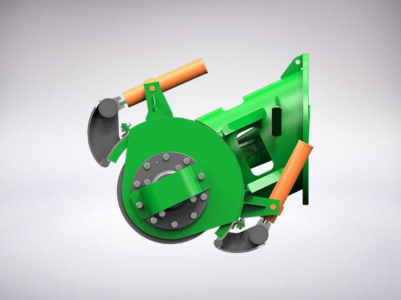 Adaptive auger head - dredger component