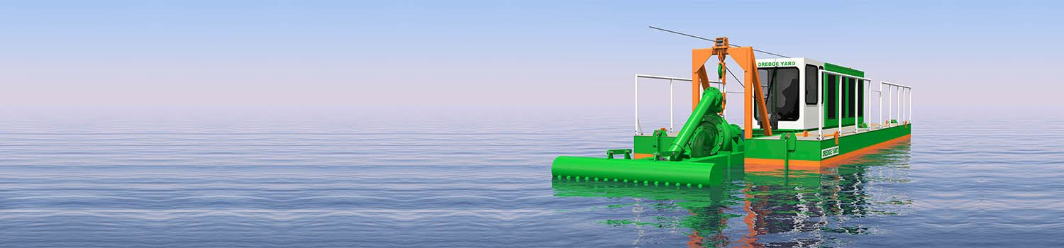 Water Injection Dredger 150 3D model