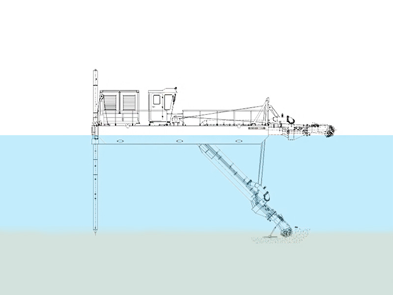 Cutter Suction Dredger Shallow Draught