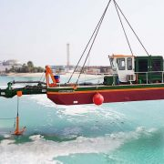 dredger ECO 200 launch by crane