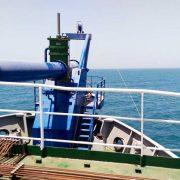 TSHD bow coupling