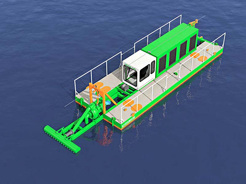 Water Injection Dredger ECO 150 3Dmodel