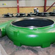 double walled dredge pump part