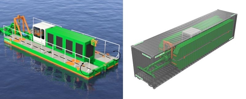 dredger ECO 150 convertible design
