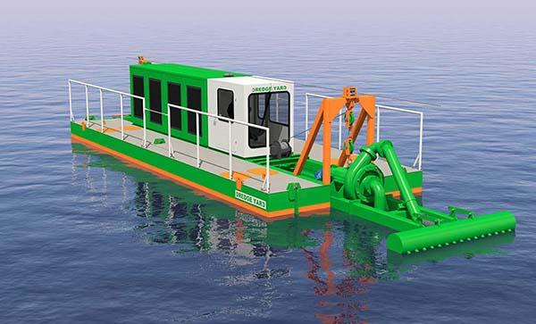 water injection dredger eco 150