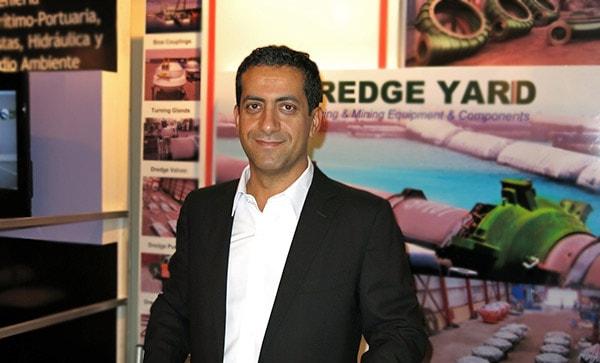 Basel Yousef at Dredging Exhibition