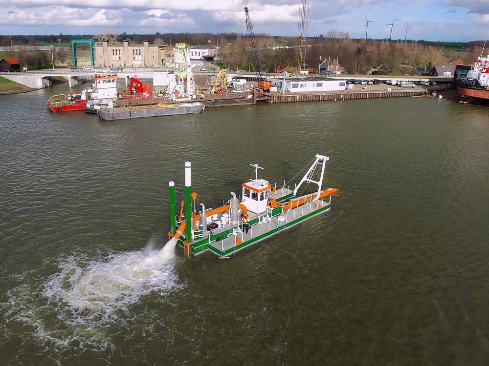 Dredge Yard Cutter Suction Dredger 400