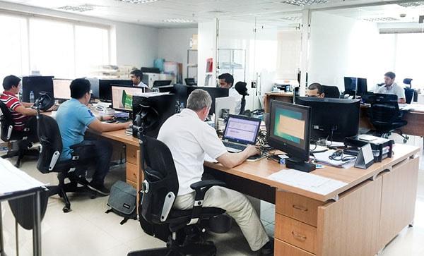 Dredge Yard Office Dubai