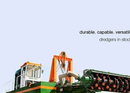 Auger Dredger 200 available in stock graphics