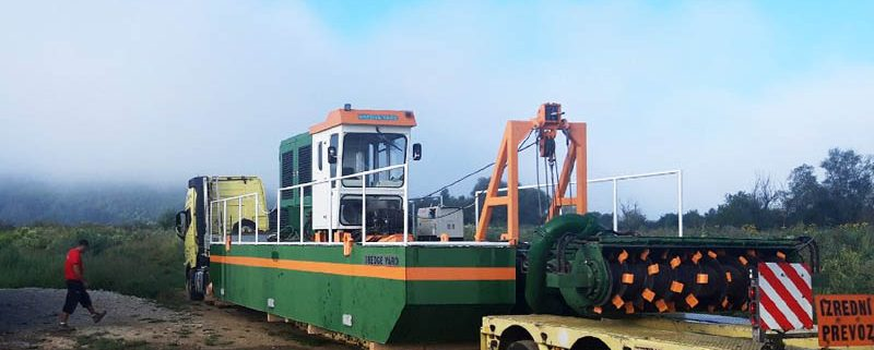 Auger Dredger ECO 200 in Hungary