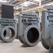 Dredge Valves of 850mm diameter