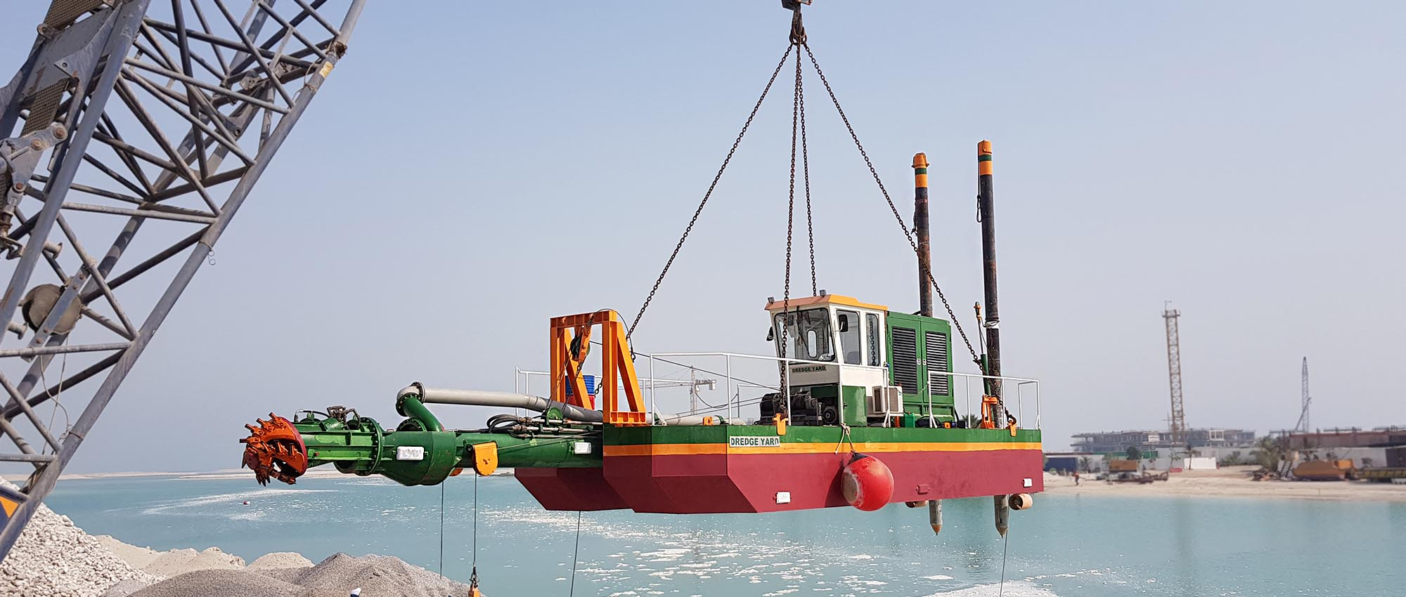 Cutter Suction Dredger in Dubai