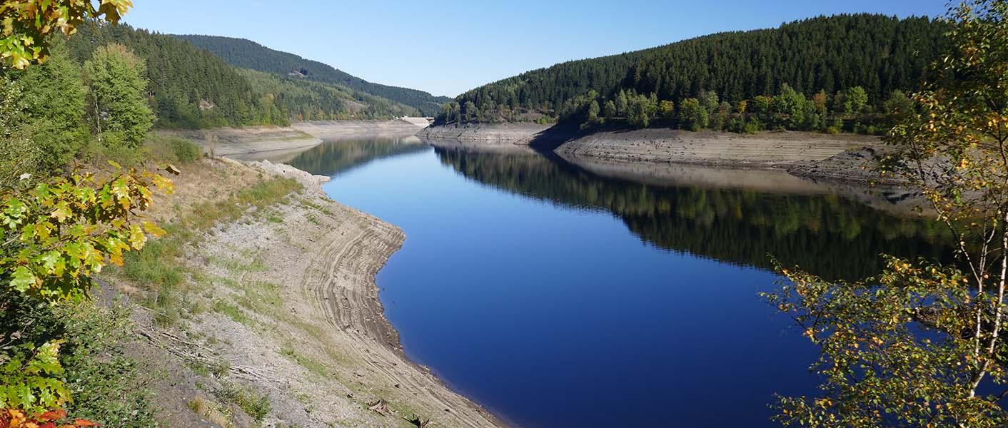 River dredging landscape