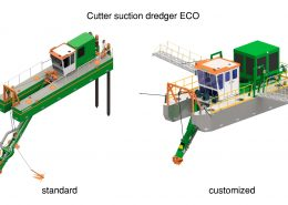 Cutter Dredger ECO standard and customized