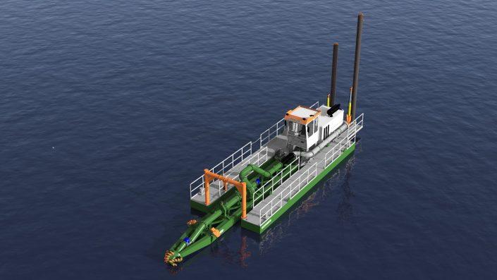 Eco dredger 12 inch