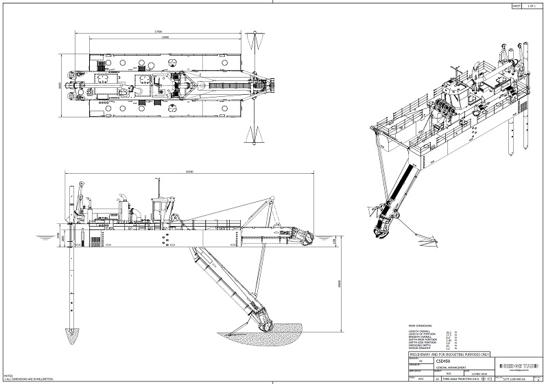 CSD450 Suction Dredger