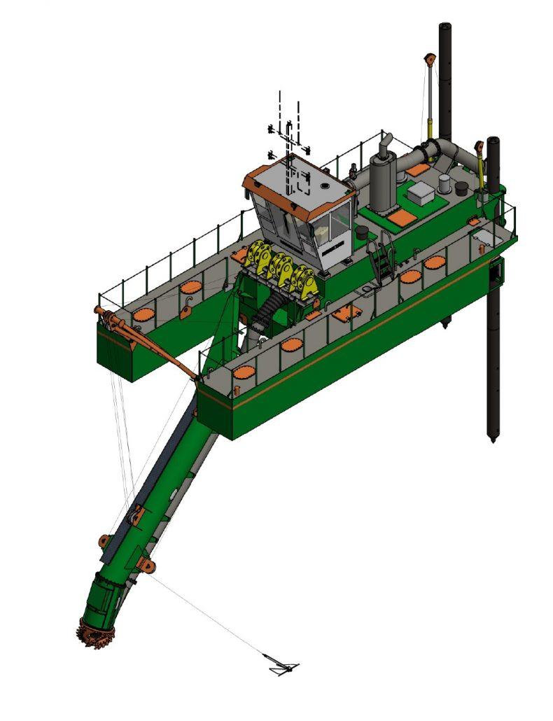 CSD 400 dredge