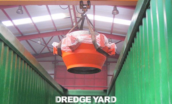 Dredge Yard delivers dredge ball joints to S.A.